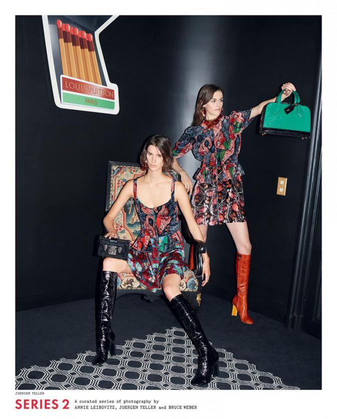 Mode : Photos : Jennifer Connelly, Freja Beha Erichsen... Découvrez la nouvelle campagne Louis Vuitton !