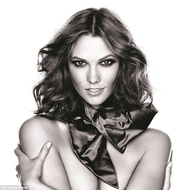 Mode : Photos : Karlie Kloss : ses nouvelles photos en tant qu'égérie L'Oréal !