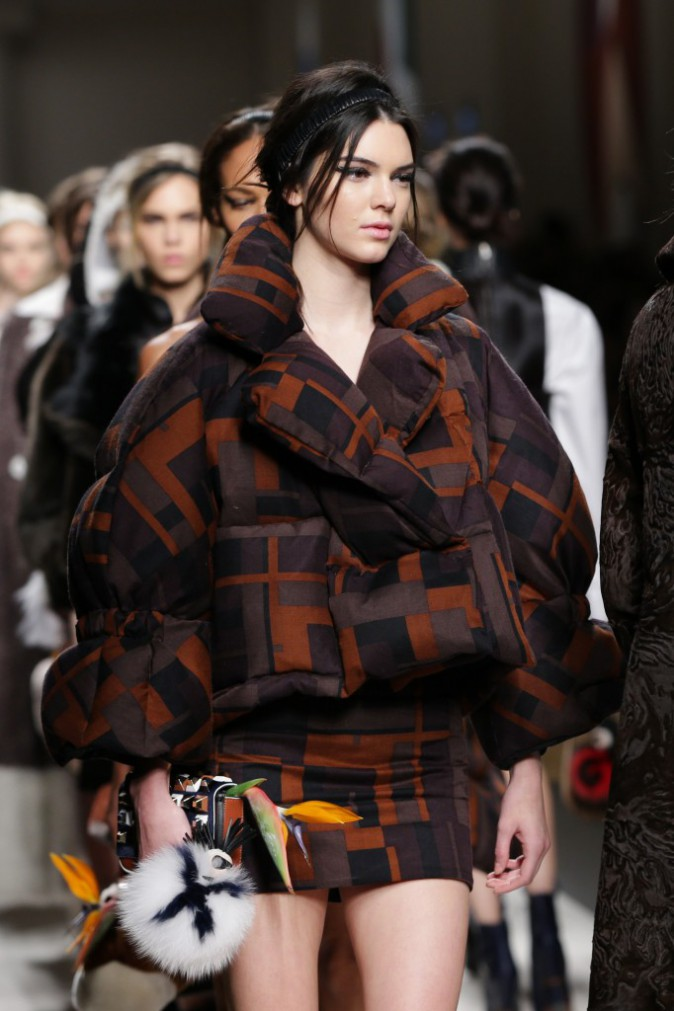 Mode : Photos : Kendall Jenner, Karlie Kloss, Joan Smalls... Intenses au défilé Fendi !