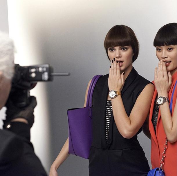 Mode : Photos : Kendall, Ming, Sacha, Baptiste, ils sont tous couleurs pour Karl Lagerfeld !