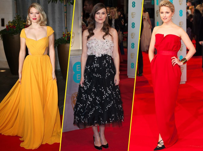 Mode : Photos : Léa Seydoux, Keira Knightley, Dianna Agron : retour sur les plus beaux looks des BAFTAs 2015 !