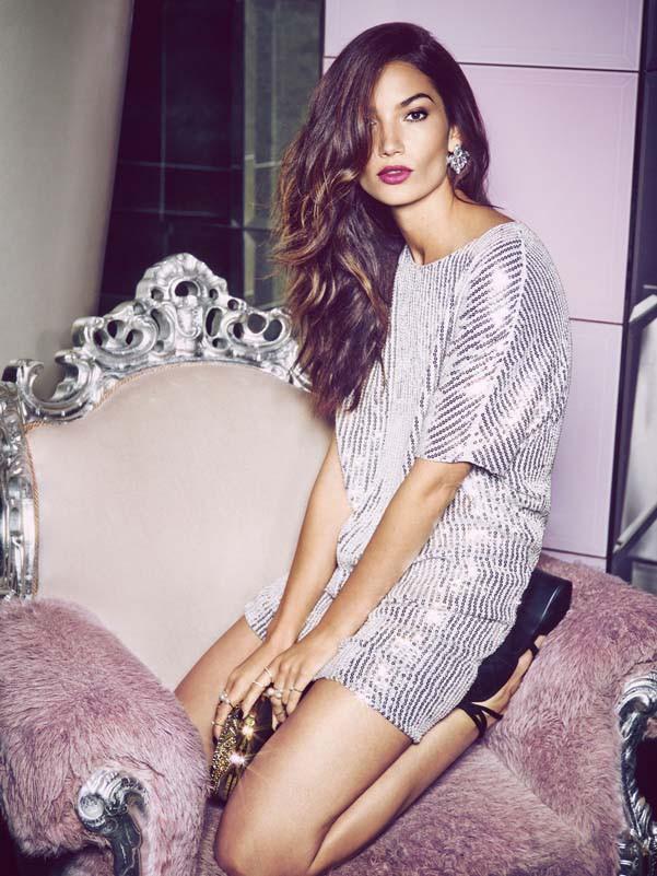 Mode : Photos : Lily Aldridge : égérie glamour et pétillante pour Nelly.com !