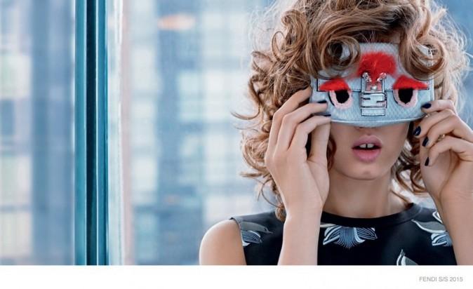 Mode : Photos : Lindsey Wixson et Binx Walton shootées par Lagerfeld pour Fendi