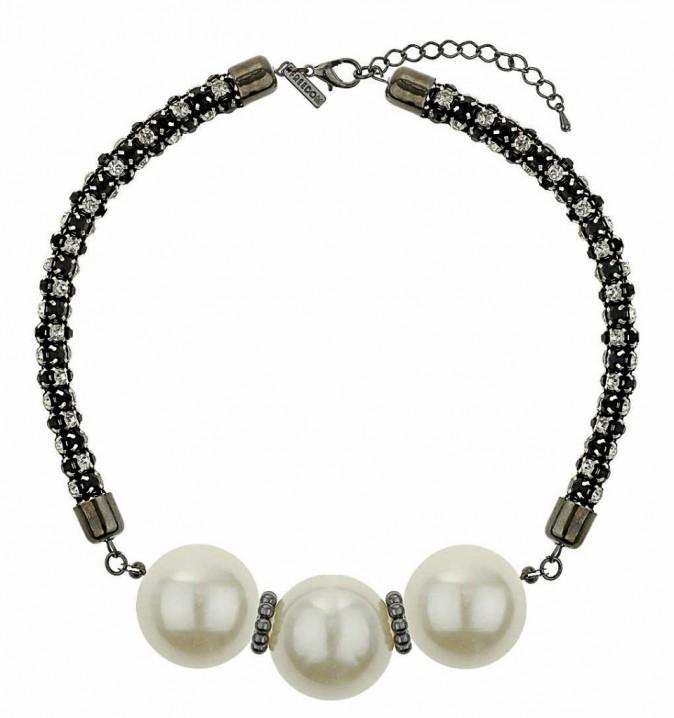 Collier large et fausses perles, Topshop 19 €