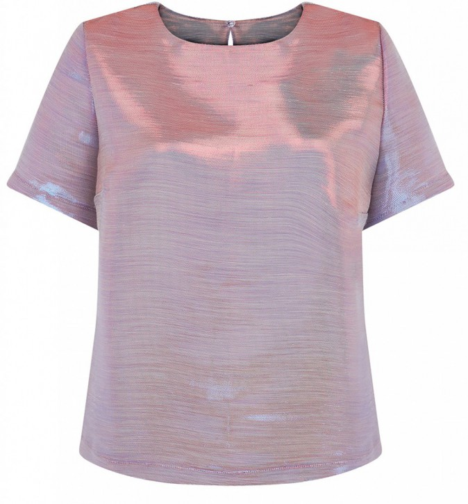 Top irisé, New Look 29,99 €