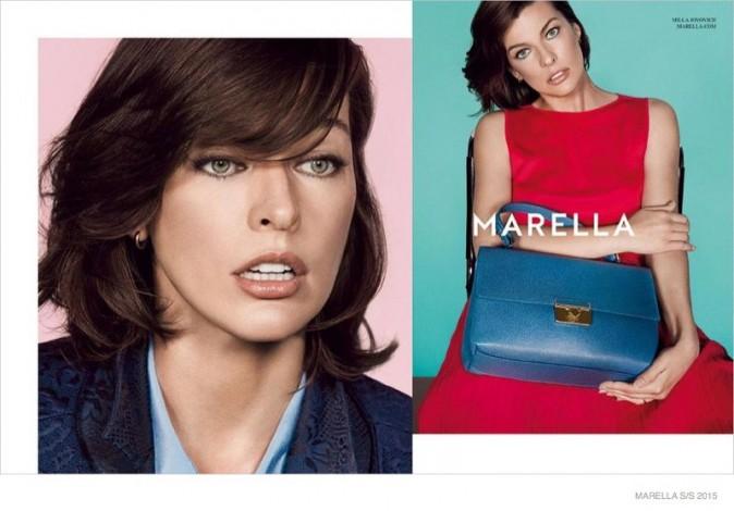 Mode : Photos : Milla Jovovich : une vraie lady dans la nouvelle campagne Marella !