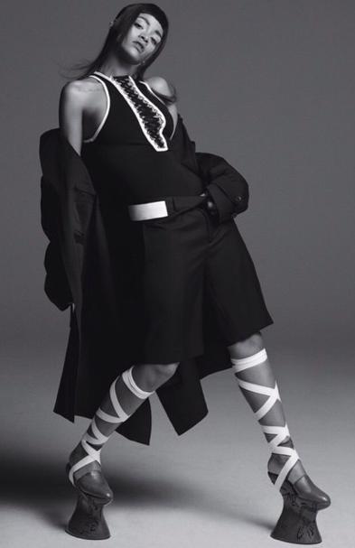 Mode : Photos : Rihanna : Elle pose en SM pour Another Magazine ...
