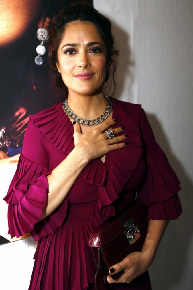 Mode : Photos : Salma Hayek : Nouvelle égérie luxueuse pour les bijoux Pomellato !