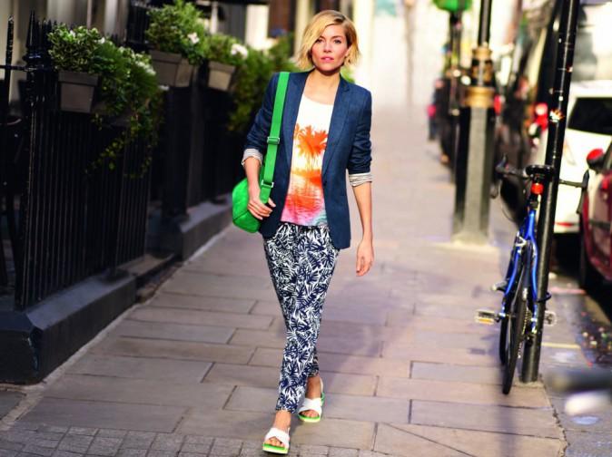 Mode : Photos : Sienna Miller : Irrésistible dans la nouvelle campagne de Caroll !