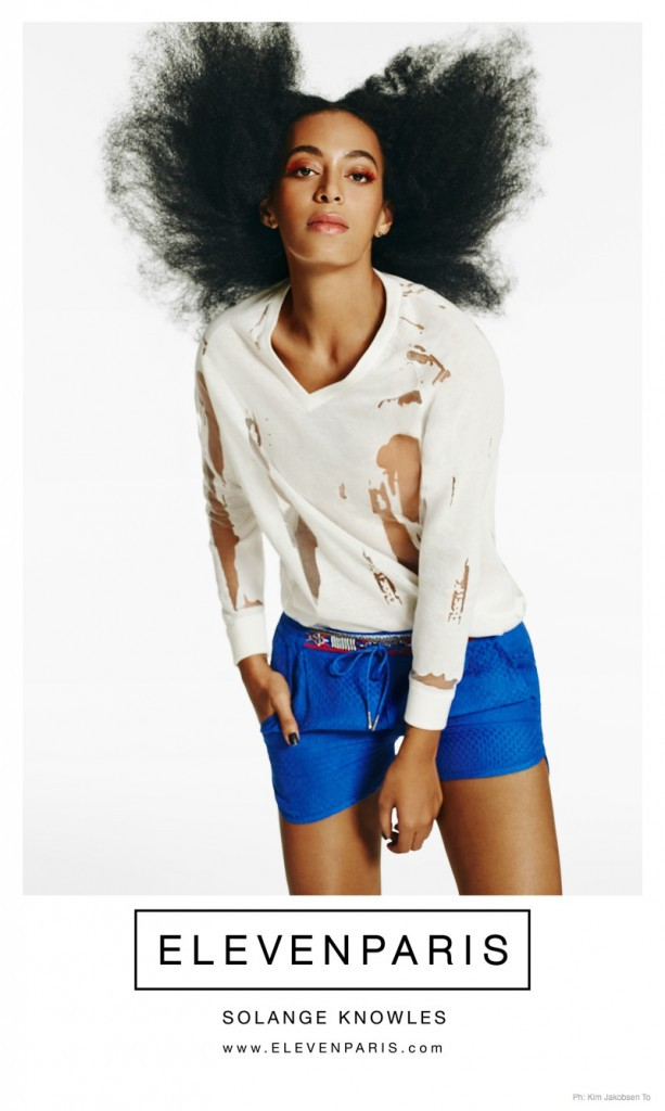 Mode : Photos : Solange Knowles : star de la nouvelle campagne ELEVENPARIS !