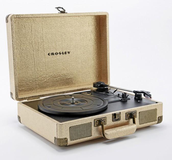 "Platine ""Cruiser"" vintage, Crosley sur urbanoutfitters.com 100 €"