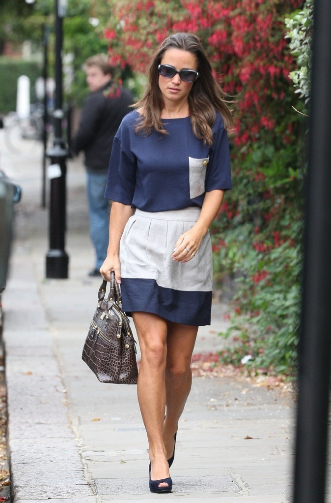 Août 2011 : Pippa Middleton à Londres