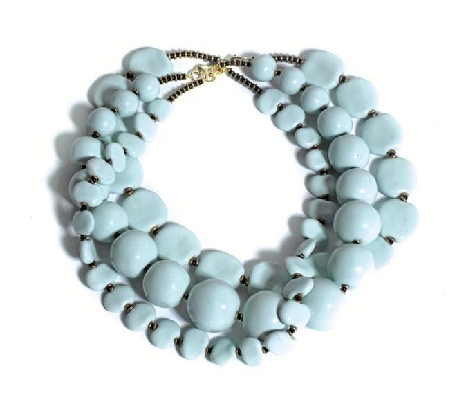 Le collier en céramique Kazuri !