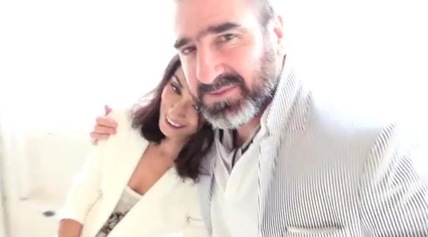 Eric Cantona et Rachida en couple depuis 10 ans.