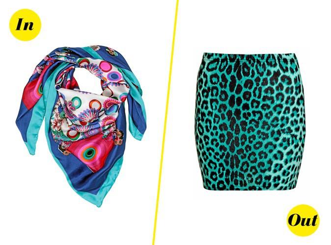 mode quand le foulard passe le l opard color tr passe. Black Bedroom Furniture Sets. Home Design Ideas