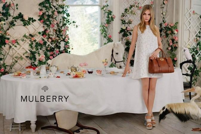 Cara Delevingne pour Mulberry !