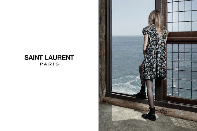 Cara Delevingne pour Saint Laurent Paris !