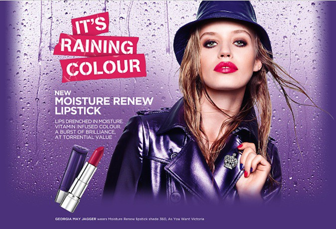 Georgia May Jagger pour Rimmel !
