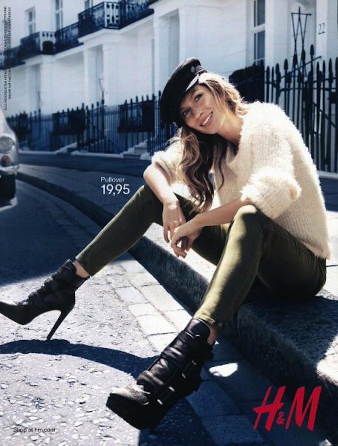 Gisele Bundchen pour H&M !