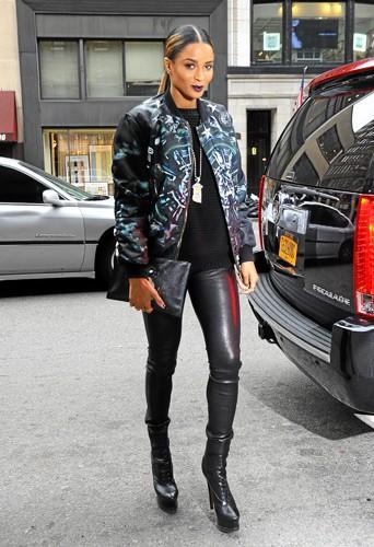 Ciara a elle aussi adopté le look Ghetto Style !