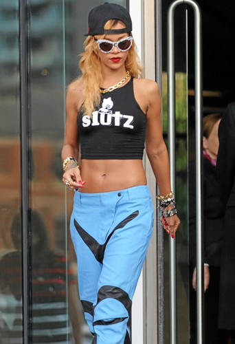 Comme Rihanna, on adopte le look Ghetto Style !
