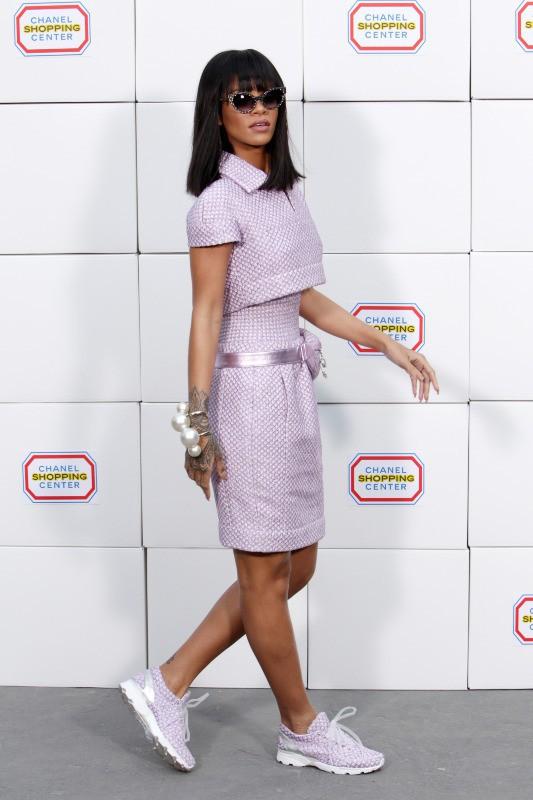 Rihanna au défilé Chanel