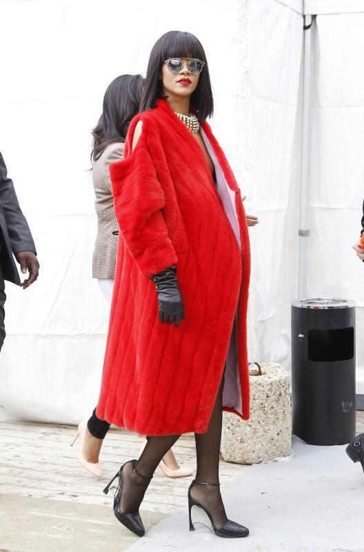 Rihanna au défilé Dior
