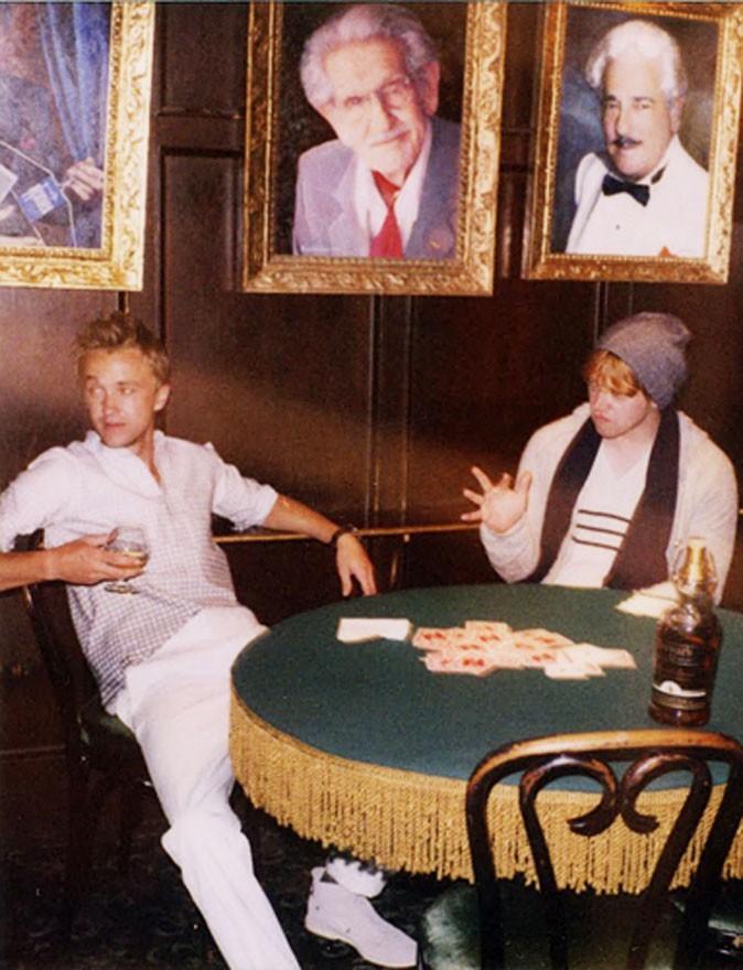 Une partie de poker entre anciens collègues !