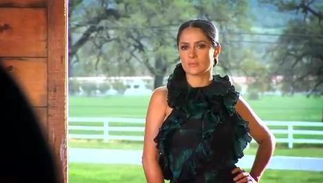 Salma Hayek pour le magazine In Style (juillet 2012)