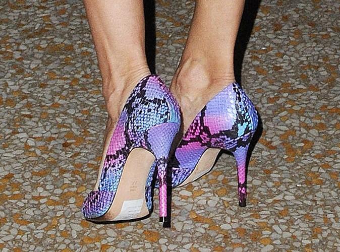 Chaussures en python à talons !