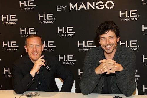 Andrés Velencoso et Scott Schuman