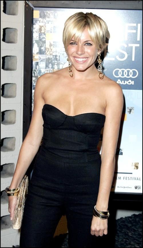 Sienna Miller avant sa grossesse : Les cheveux courts lui vont à ravir !