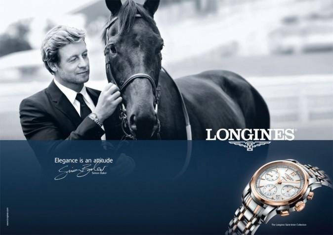 Simon Baker pour Longines !