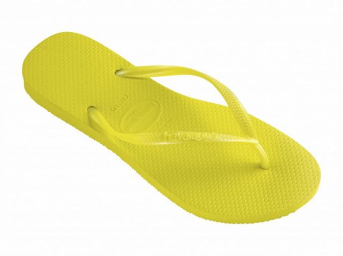 Tongs, Havaianas Slim jaunes 26 €