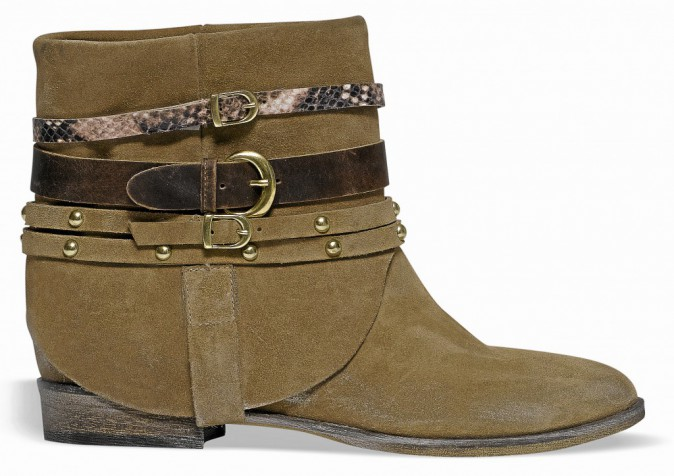 Boots multibrides, Eram 120 €