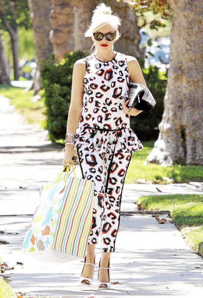 Gwen Stefani : Les soldes et elle ?Ensemble, c'est tout !