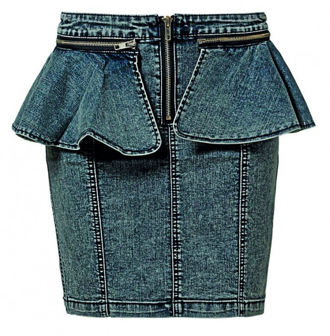 Jupe en jean, Noisy May, 28€