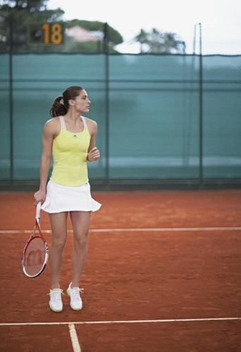 "Andrea Petkovic pour le spot publicitaire de la collection ""Barricade"" de Stella McCartner"