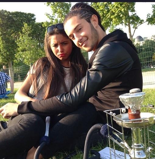 Tarek Benattia et sa mystérieuse petite amie ...