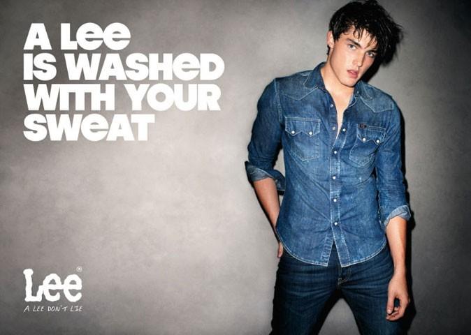 """Mode : """"Un Lee est lavé avec votre sueur"""", la campagne de Lee shootée par Terry Richardson"""