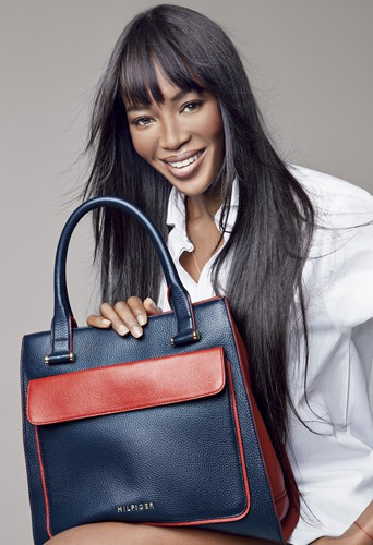 Mode : Tommy Hilfiger : Claudia Schiffer et Naomi Campbell ...