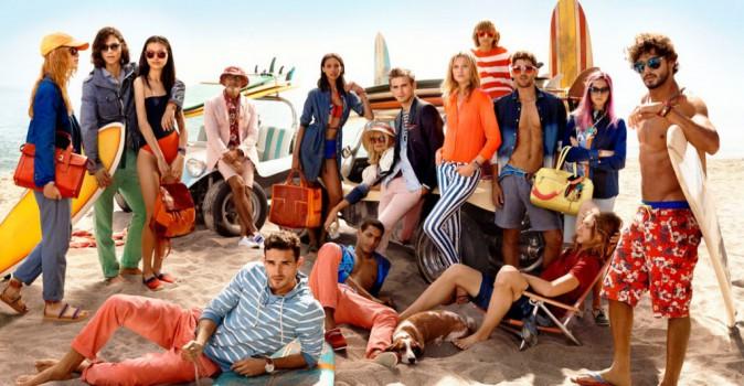 Toni Garrn : la girlfriend de Leonardo Dicaprio se la joue cool pour la nouvelle campagne Tommy Hilfiger !