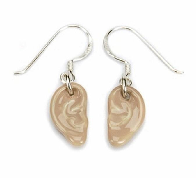 Boucles d'oreilles oreilles, Calourette, 70€