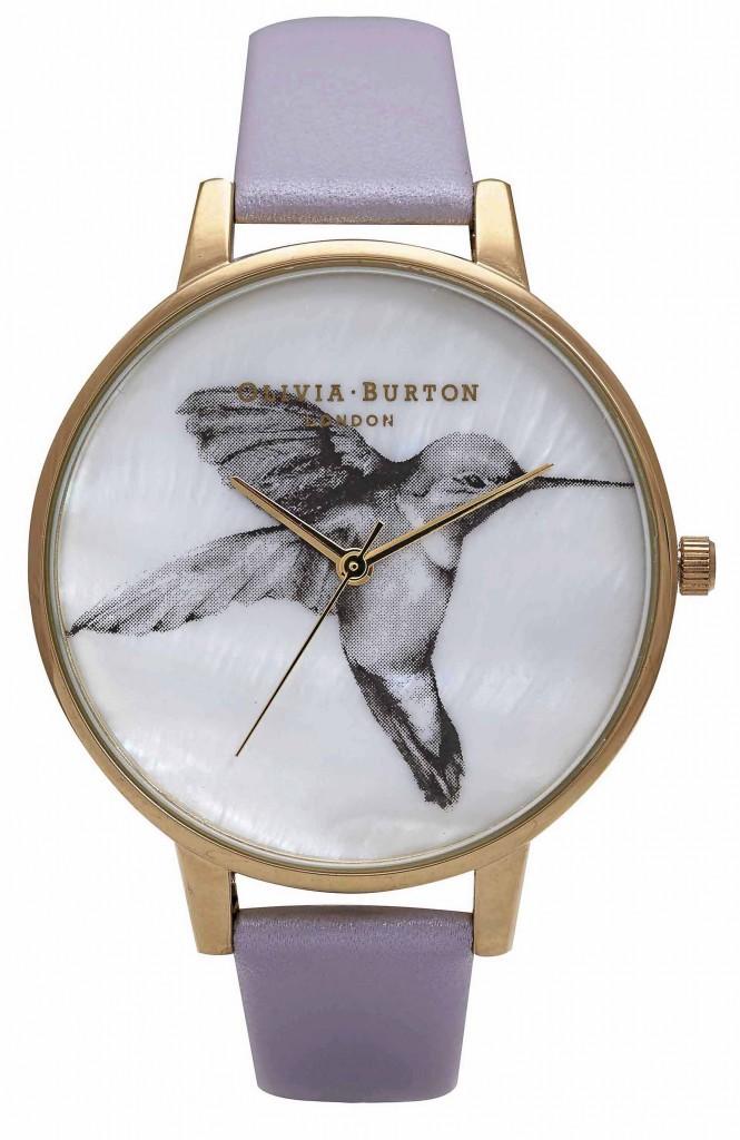 Bracelet en cuir, Oliva Burton, 82€