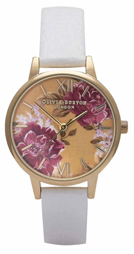 Bracelet en cuir, Olivia Burton, 75€