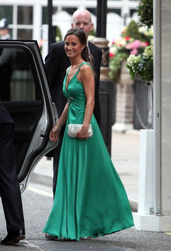 La robe Alice Temperley de Pippa Middleton...