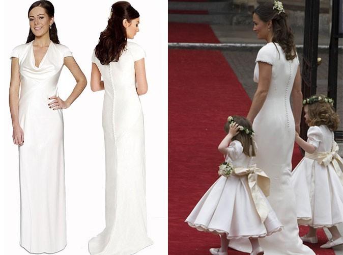 Le magasin Debenhams propose toutes les robes du mariage de Kate et William  à prix doux