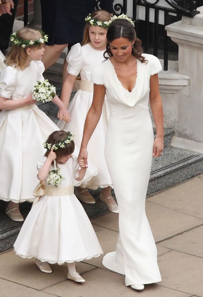 Les robes des demoiselles d'honneur de Kate...