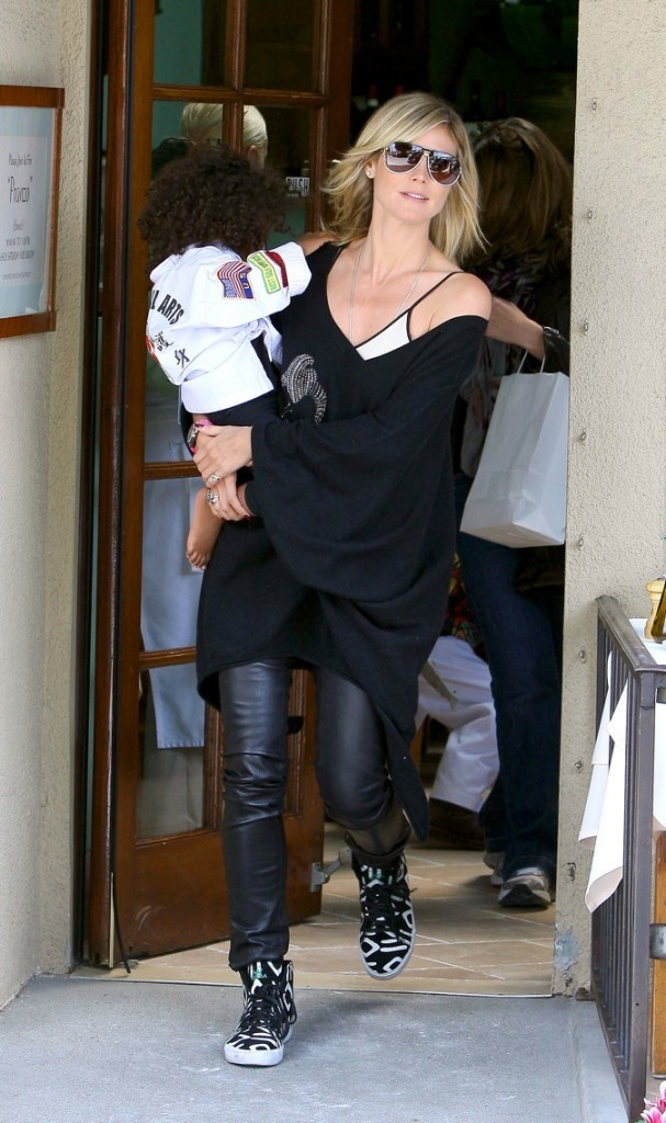 Heidi Klum, une maman fashion !