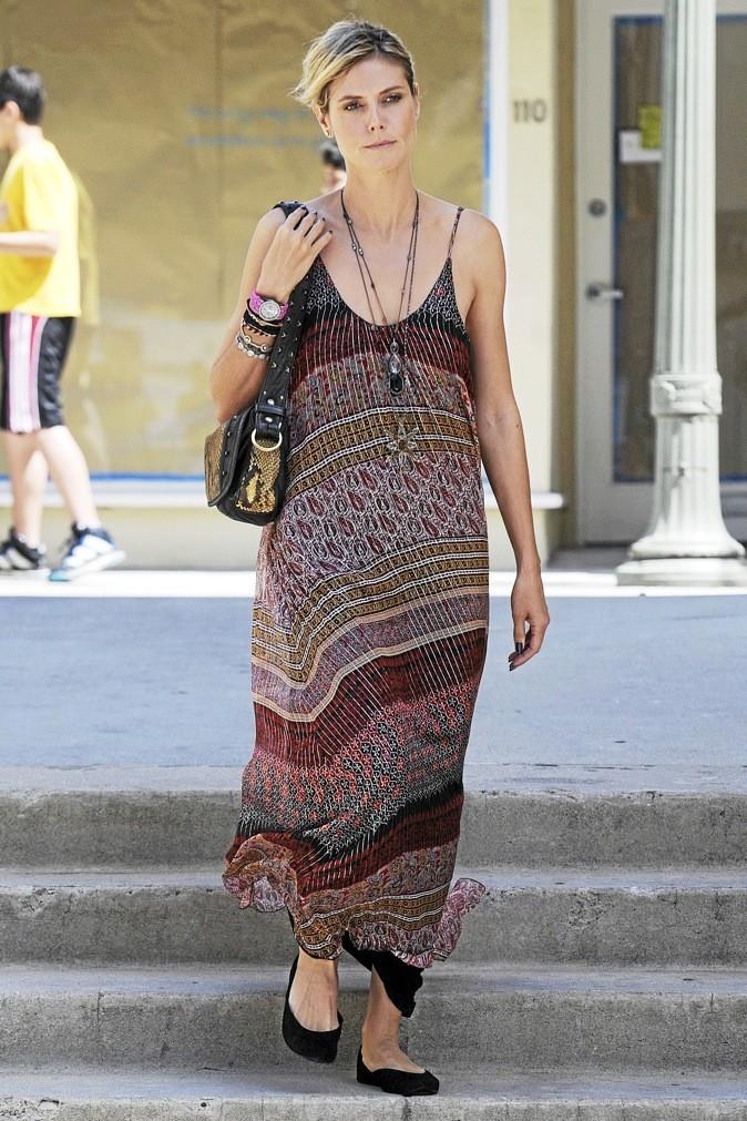 Heidi Klum : imprimé ethnique !